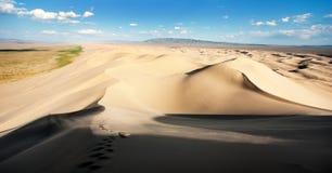 Пустыня - Монголия Стоковые Изображения RF