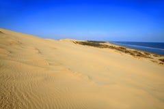Пустыня морем стоковые фото