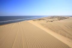 Пустыня морем стоковая фотография