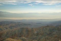 Пустыня Мохаве от пункта воодушевленности стоковые фотографии rf