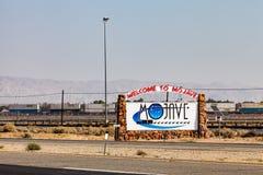 Пустыня Мохаве Стоковое фото RF