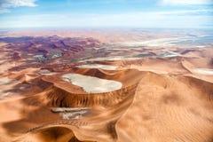 Пустыня Намибии, Sussusvlei, Африка Стоковые Фотографии RF