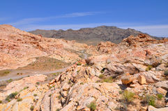 пустыня Невада Стоковая Фотография