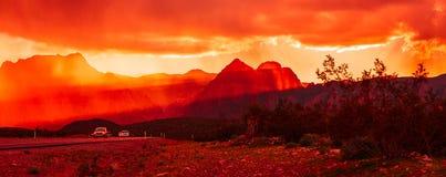 пустыня Невада Стоковое фото RF