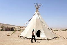 Пустыня Негев - Израиль Стоковые Изображения RF