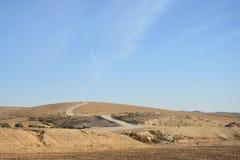 Пустыня Негев, Израиль стоковое изображение