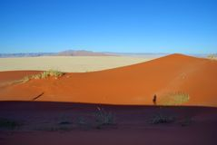 Пустыня около sossusvlei стоковое изображение rf