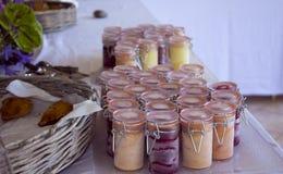 Пустыня помадки завтрак-обеда мороженого Стоковое Изображение RF