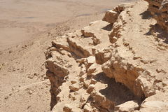 пустыня предпосылки Стоковая Фотография RF