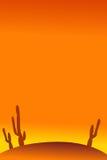 пустыня предпосылки Стоковое Изображение