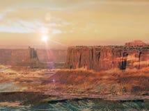 пустыня пустая Стоковое фото RF