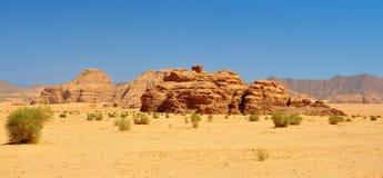 Пустыня рома вадей Стоковая Фотография RF