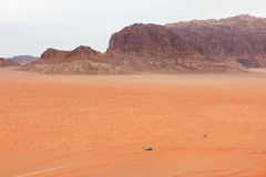 Пустыня рома вадей Стоковые Изображения
