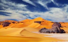 пустыня Сахара Алжира Стоковое Изображение RF