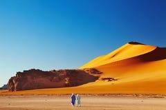 пустыня Сахара Алжира Стоковые Изображения