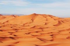 пустыня Сахара Стоковое Изображение