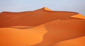 пустыня Сахара Стоковая Фотография