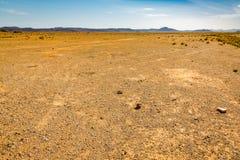 Пустыня Сахара Reg в Марокко стоковая фотография