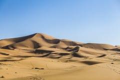 Пустыня Сахары Стоковое Изображение