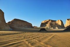 Пустыня Сахары, Akabat, Египет Стоковая Фотография RF