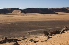 Пустыня Сахары Libyan Стоковое Изображение