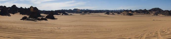 Пустыня Сахары Libyan Стоковые Фотографии RF