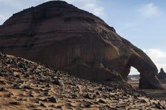 Пустыня Сахары Libyan Стоковое Фото