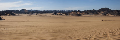 Пустыня Сахары Libyan Стоковая Фотография
