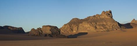 Пустыня Сахары Libyan Стоковая Фотография RF