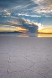 Пустыня Салара de Uyuni, Боливия Стоковые Фотографии RF