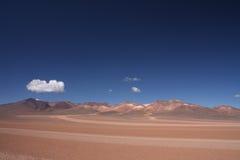 Пустыня Сальвадора Dali, Боливия Стоковое Изображение