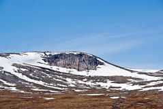 пустыня северная Норвегия Стоковые Изображения RF