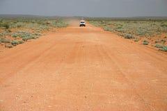 пустыня скрещивания Стоковые Фотографии RF
