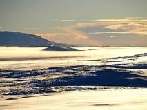 Пустыня снега Стоковая Фотография RF