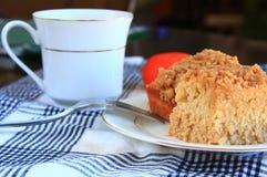 Пустыня торта мякиша завтрака Стоковое фото RF
