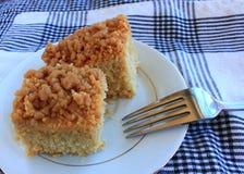 Пустыня торта мякиша завтрака Стоковое Изображение