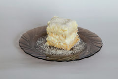 Пустыня торта Diplomatico Стоковая Фотография RF