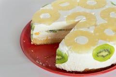 Пустыня торта Diplomatico Стоковое Фото