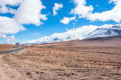 пустыня Чили atacama Стоковое Фото