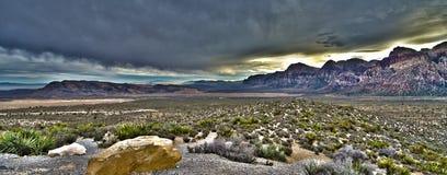 Пустыня широко Стоковое Фото