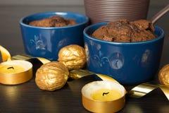 Пустыня шоколада Стоковое Изображение RF