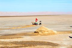 Пустыня Южная Африка Тунис стоковые фото
