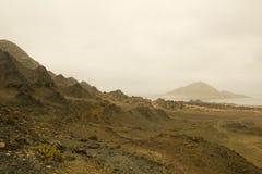 Пустыня Atacama, чилеански Стоковая Фотография