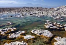 Пустыня Atacama - Чили Стоковые Изображения RF