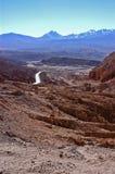 Пустыня Atacama Чили Стоковое фото RF