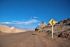 пустыня atacama Стоковые Изображения RF