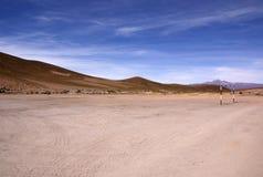 Пустыня Atacama, Uyuni, Боливия Стоковые Изображения