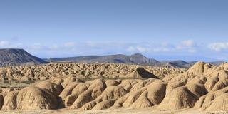 Пустыня Bardenas Reales в Испании стоковое фото rf