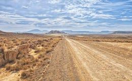 Пустыня Bardenas Reales в Наварре стоковая фотография rf
