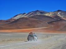 Пустыня Dali, BolÃvia стоковые изображения rf